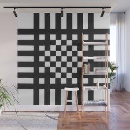 Interwoven Stripes Wall Mural