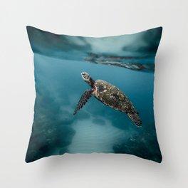 Take a peek Throw Pillow
