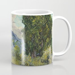 Cypresses by Vincent van Gogh Coffee Mug