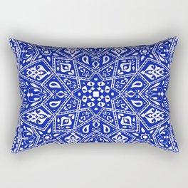 Amirah Blue Rectangular Pillow