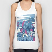 eternal sunshine Tank Tops featuring Eternal Sunshine of the Spotless Mind by Ale Giorgini
