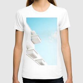 Minimal White Balcony Dream #1 #wall #decor #art #society6 T-shirt