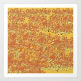 Southern California Buckwheat Art Print