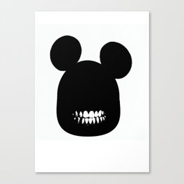 mad mickey Canvas Print