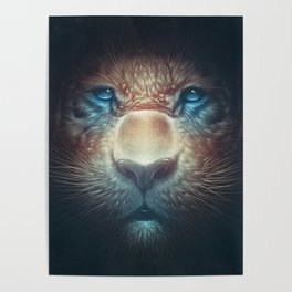 Red Tiger Poster