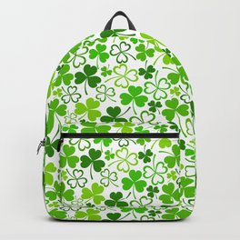 Happy St. Patrick's Day Pattern   Ireland Luck Backpack