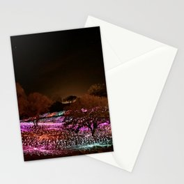 Field of Light Stationery Cards