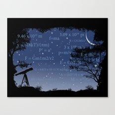 Formulas Matter Canvas Print