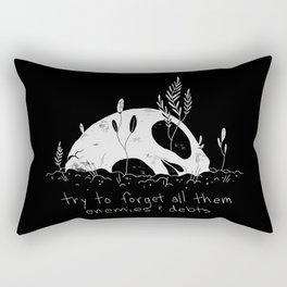 Roll the Bones Rectangular Pillow