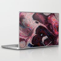 funky Laptop & iPad Skins featuring Funky fractal by MehrFarbeimLeben
