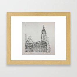 Chicago - Wrigley Building Framed Art Print
