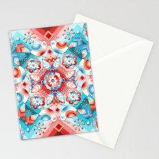 Rococo Lovebirds Stationery Cards