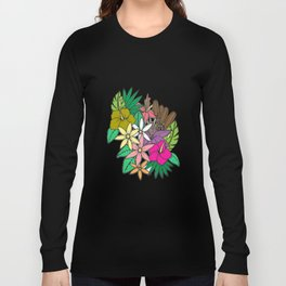 Flowers in Garden Long Sleeve T-shirt