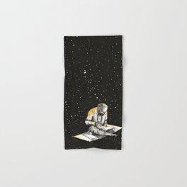 Allen Ginsberg in the sky Hand & Bath Towel