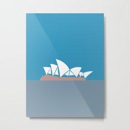 Sydney Opera House, Australia Metal Print