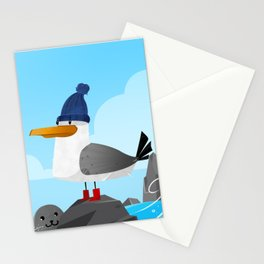 """""""Moin Moin"""" Seagull Stationery Cards"""