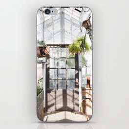 Greenhouse Fern Room iPhone Skin