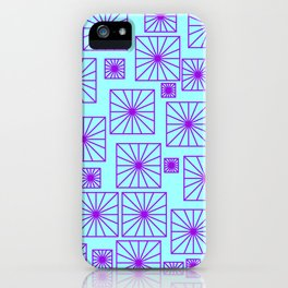SKYBLUE SQUARE iPhone Case