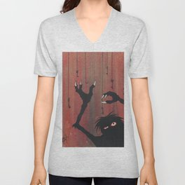 """""""Finding the Key to Your Heart"""" Unisex V-Neck"""