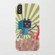 Go Go Mecha Kitty iPhone X Slim Case