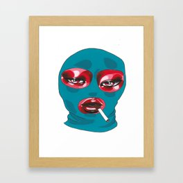 Gang Girl Framed Art Print