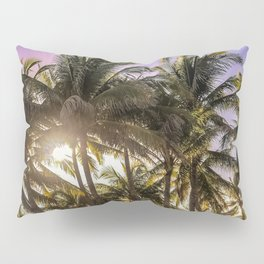 PURPLE AND GOLD SKIES Pillow Sham