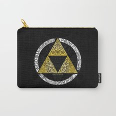 Zelda - triforce circle Carry-All Pouch