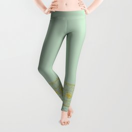 sunshine over versailles Leggings