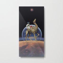 Dancing Camel Metal Print