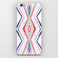 aqua iPhone & iPod Skins featuring Aqua by FakeFred