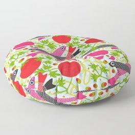 PASTA CON MOLLICA DI PANE Pattern Floor Pillow