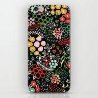 Winter Bouquet iPhone Skin