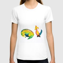 Little Rainbow Puppies T-shirt