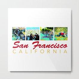 Welcome to San Francisco Metal Print