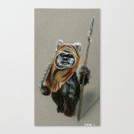 Ewok Canvas Print