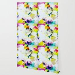Abstract Paint Splatter Art Wallpaper