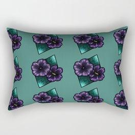 GeoFlowers Rectangular Pillow