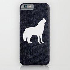 Jeans dog iPhone 6s Slim Case