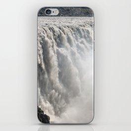 Dettifoss Waterfall in Vatnajokull National Park - Northeast Iceland iPhone Skin
