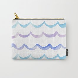 Life is Swell - Ombre Waves Carry-All Pouch