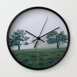Mystic Forest in Slovenia 04 Wall Clock