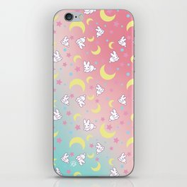 Sailor Moon Bunny's Pattern iPhone Skin