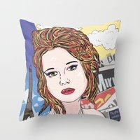 france Throw Pillows featuring France by • PASXALY •
