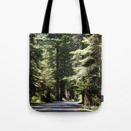 Humboldt State Park Road Tote Bag