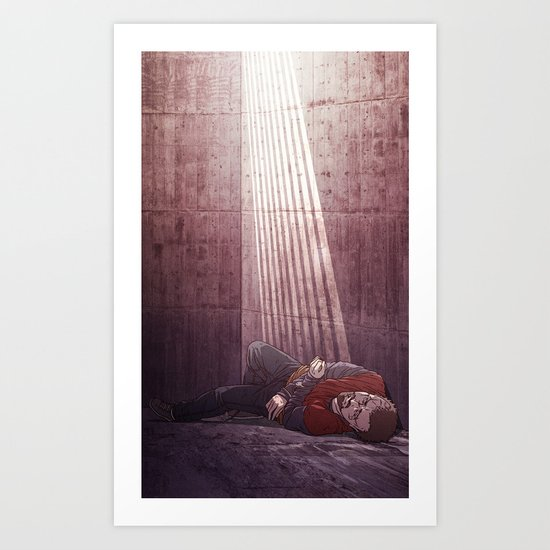 Ten of Swords (Jesse Pinkman - Breaking Bad) Art Print