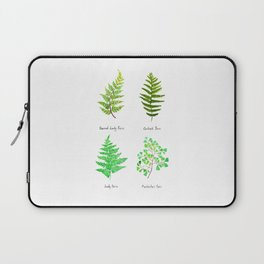 fern collection watercolor Laptop Sleeve