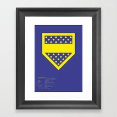Boca Juniors Framed Art Print