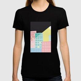 Moonlit Cityscape T-shirt