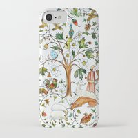 medieval iPhone & iPod Cases featuring MEDIEVAL by oxana zaika