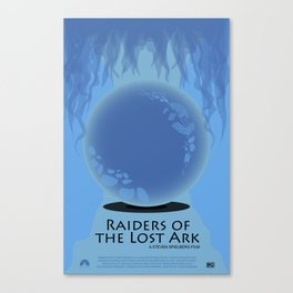 Raiders of the Lost Ark Movie Poster Canvas Print